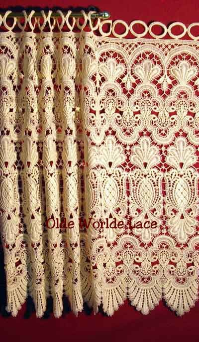 22 Best Macrame Lace Images On Pinterest Lace Curtains