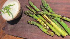 Grilled Asparagus with Tarragon Mayonnaise