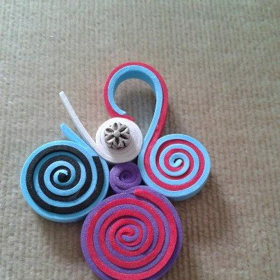 espiral, tb con goma eva