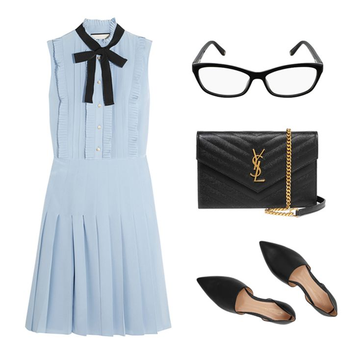Outfit with Glasses