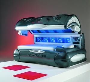 Lettino Solarium alta pressione con massaggio