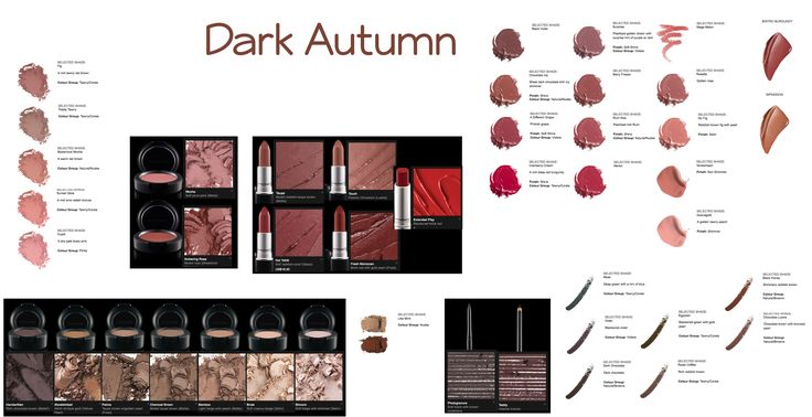 DA makeup choices - I have not verified all of these, but they're something to look into.