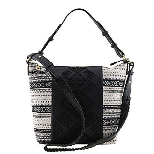 sac desigual 17waxphf lila astún noir: SAC LILA ASTUN Sac à Main nouvelle collection qui apportera à votre look du jour originalité et…