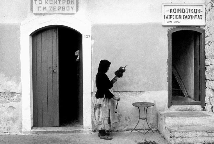 Constantine Manos - Greece. Crete. Elounta. 1964.