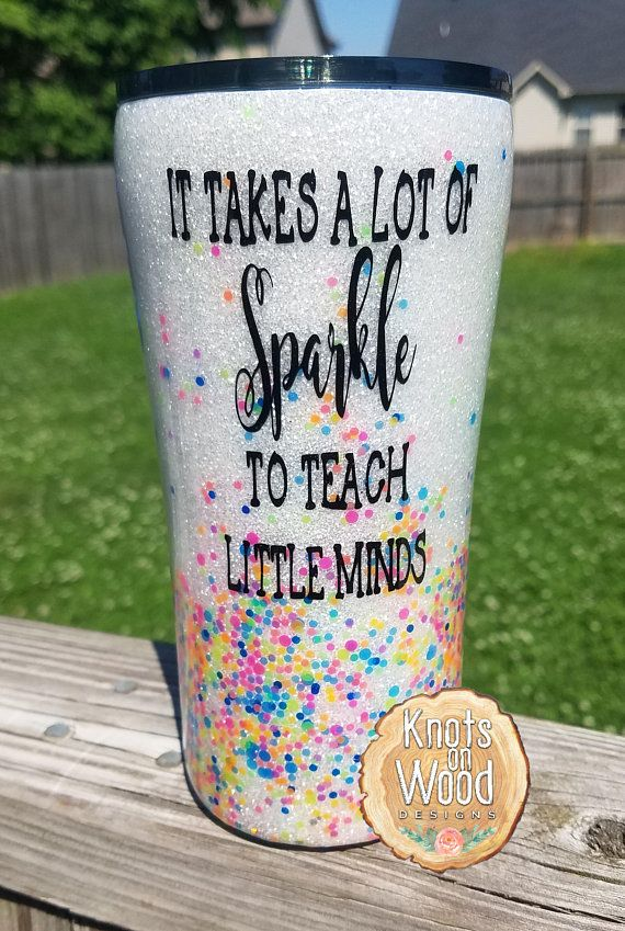 e35fee4809a Sprinkle Kindness like Confetti Glitter Dipped Tumbler Design| Personalized  Custom Tumbler Cup | Sparkle Coffee Travel Mug | | Special Design Glitter  ...