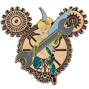 Tinkerbell Steampunk Disney Pin - I want this pin!  Can't wait to be able to do more trading :)