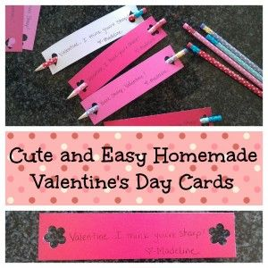 Adorable Homemade Valentines
