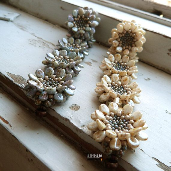 Margherita Pip bracciale pattern di perline PDF di LeelaBeads