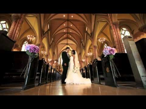 Filipino wedding at Holy Family Catholic Church in Chicago and InterContinental Hotel OHare Chicago.  Wedding cinematography video trailer created by http://www.DelackMediaGroup.com.    In this wedding video trailer, youll see several Filipino wedding traditions. As described in Christine and Bretts wedding booklet, the traditions are as foll...