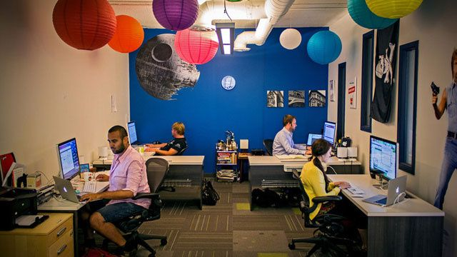 Colour And Personality: The Offices Of Shopify  (and oh hey, I'm on Pinterest!)