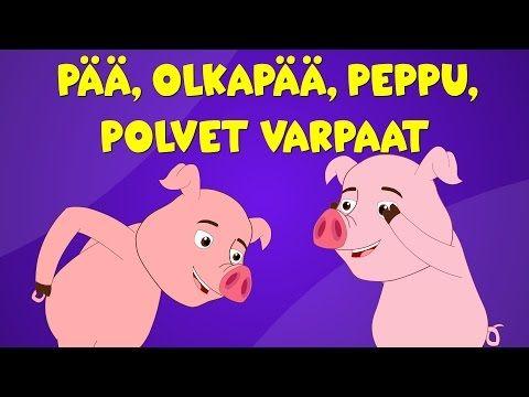 Suomen lastenlauluja | Pää, olkapää, peppu, polvet varpaat + monta muuta lastenlaulua - YouTube