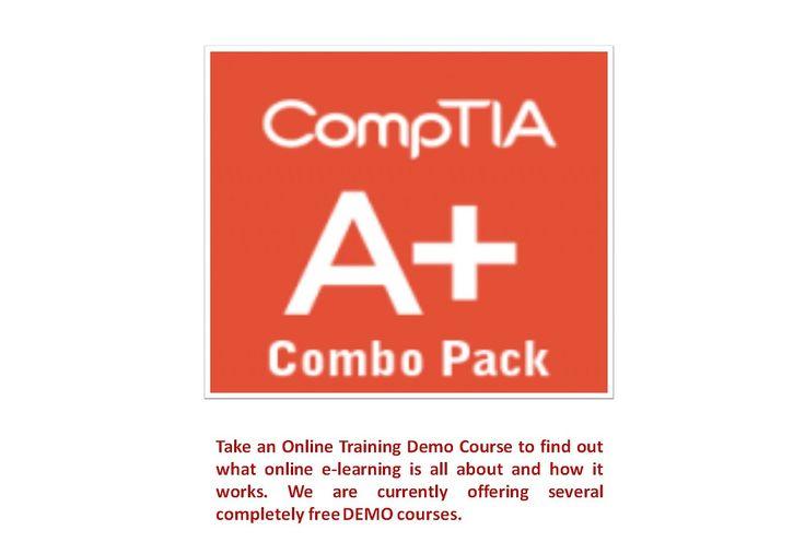 13 Best Comptia A Certification Courses Images On Pinterest Cloud