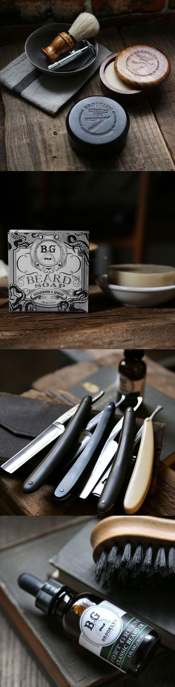 Handmade Men's grooming products by Brooklyn Grooming