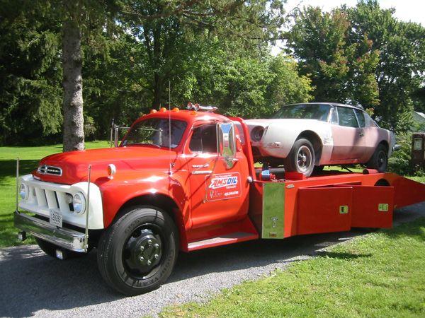 Studebaker Car Hauler With Images Studebaker Trucks Vintage