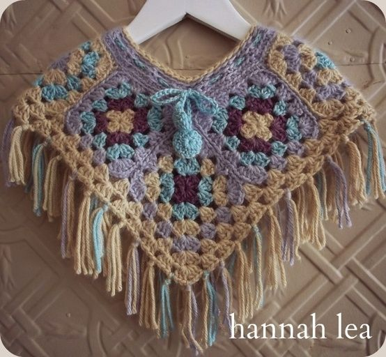 25+ best ideas about Granny square poncho on Pinterest ...