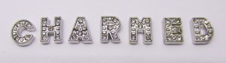 Alphabet Letters Floating charms for living locket  Buyers Choice of letter