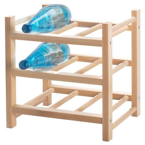 HUTTEN κάβα για 9 μπουκάλια κρασιού - IKEA