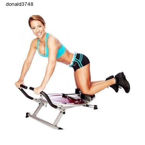 Seen On TV AB Circle Pro Abs Exercise Machine equipment & Workout DVD