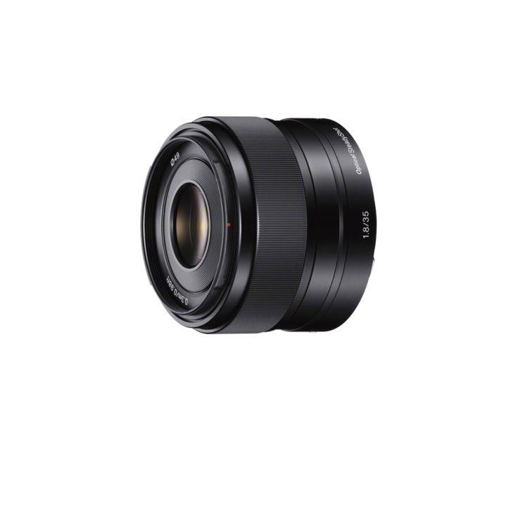 Objectif E 35 mm F1.8 avec stabilisateur optique SteadyShot