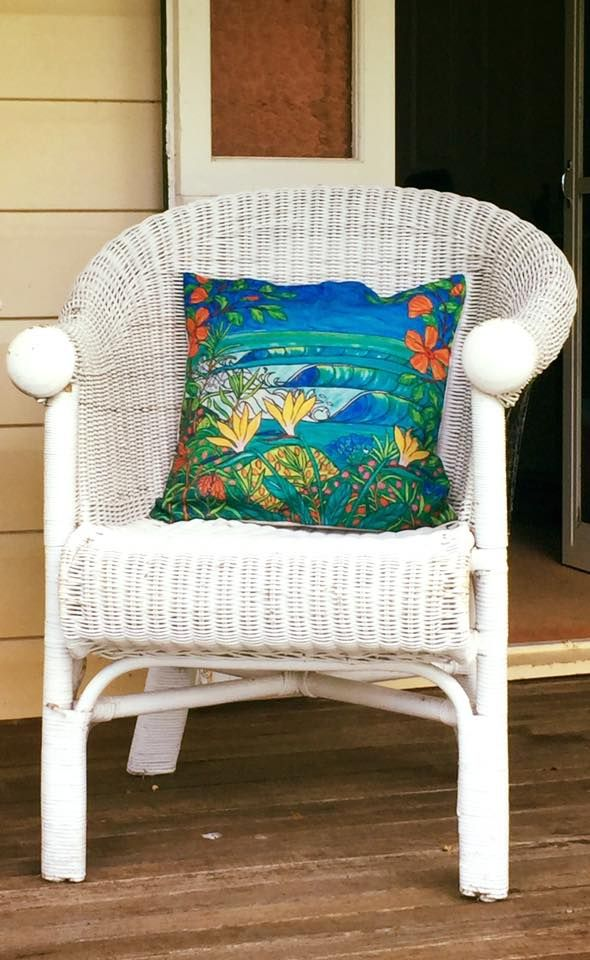 Monarchs Cushion Cover in 55 x 55 cm size,