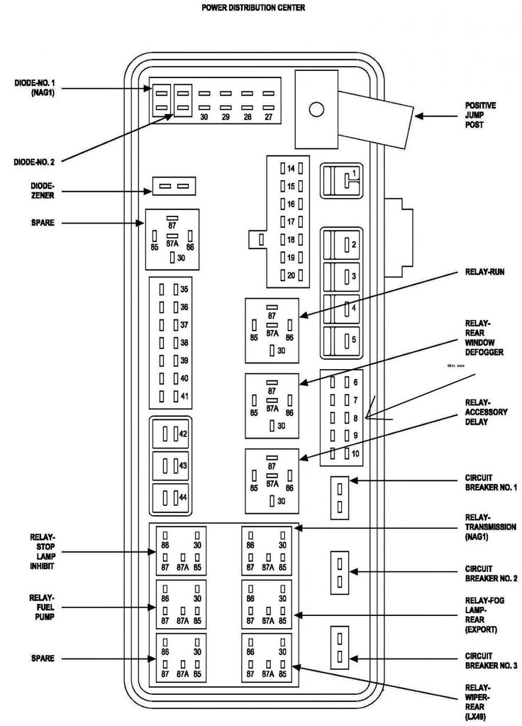 2002 Dodge Ram 1500 Infinity Stereo Wiring Diagram from i.pinimg.com