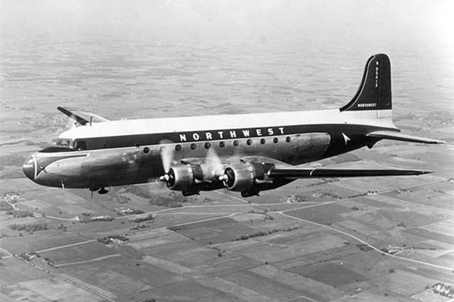Northwest Airlines Douglas DC-4