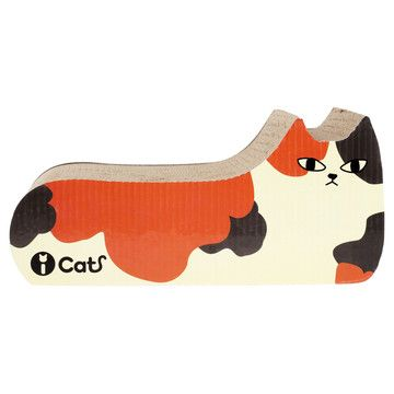 """Cat Scratch, $21, now featured on Fab. Cat Scratch features a corrugated cardboard surface. Other colors avail. Brand- iCat.  Corrugated Cardboard. Brown, Orange, Beige. H 9"""" W 17"""" D 7.50""""."""