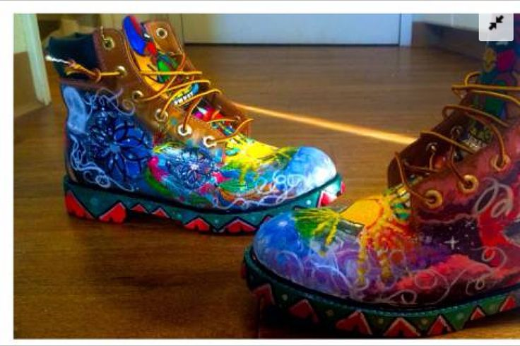Want these! customize Indian style timberland boots