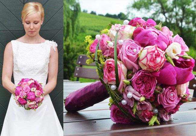 Brautsträuße, Brautjungfernsträuße & Anstecker