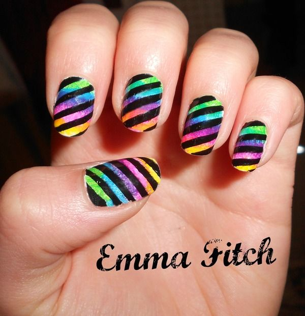 Little Marcel Nails - wanna try this so hard!