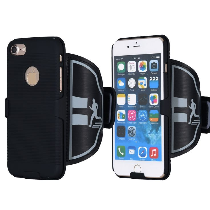 iPhone 7 Armband, Key Holder for Gym Running Jogging Hiking and Workout with ID Card Cash Holder for Apple iPhone 7 (4.7 inch) Black. 1.100% MONEY BACK GUARANTEE - If For Whatever Reason You Don't Absolutely Love Your Sport Armband, Just Return It And We Will Refund Every Penny Or Replace It, No Questions Asked. 2.HUMANIZED DESIGN - Our Armband Includes A Tight Small Pocket That Fits Most Keys. Secure Built-in Hidden Key/Credit Card/Cash Holder. Never Worry About Having To Carry Your Keys…