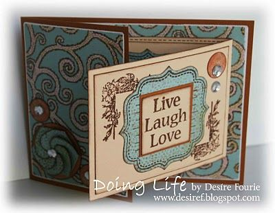 Desire Fourie from Doing Life   Joy Fold Card