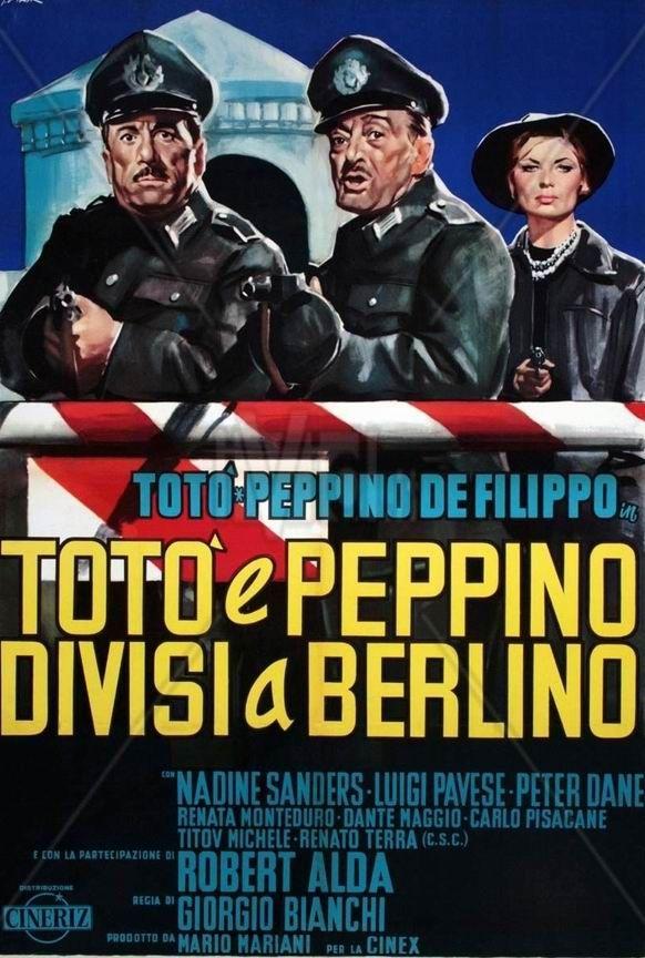 Totò e Peppino divisi a Berlino. 1962