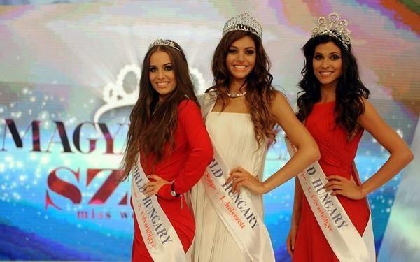 Magyarország Szépe - 2014 - Kulcsár Edina Udvarhölgyei Katona Gitta és Van Den Bosch Sydney