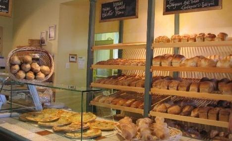 Ile d'Orleans, Quebec, Canada--bakery