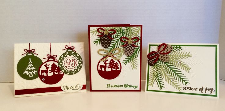 Stampin' Up! Christmas 2016 by Kris Dickinson