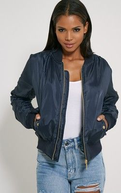 17 Best ideas about Blue Bomber Jacket on Pinterest | Bomber ...