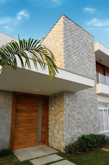 Residência CC: Casas modernas por Cabral Arquitetura Ltda.