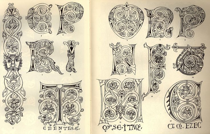146 Best Calligraphy Celtic Cadel Images On Pinterest