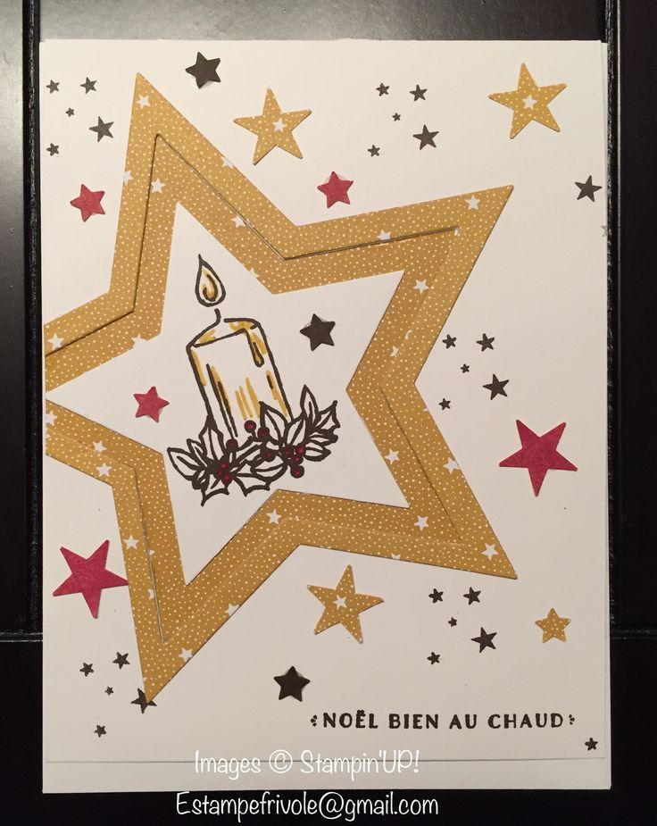 Jar of Cheer, À vous tous & Noël au chaud, Stampin'UP!