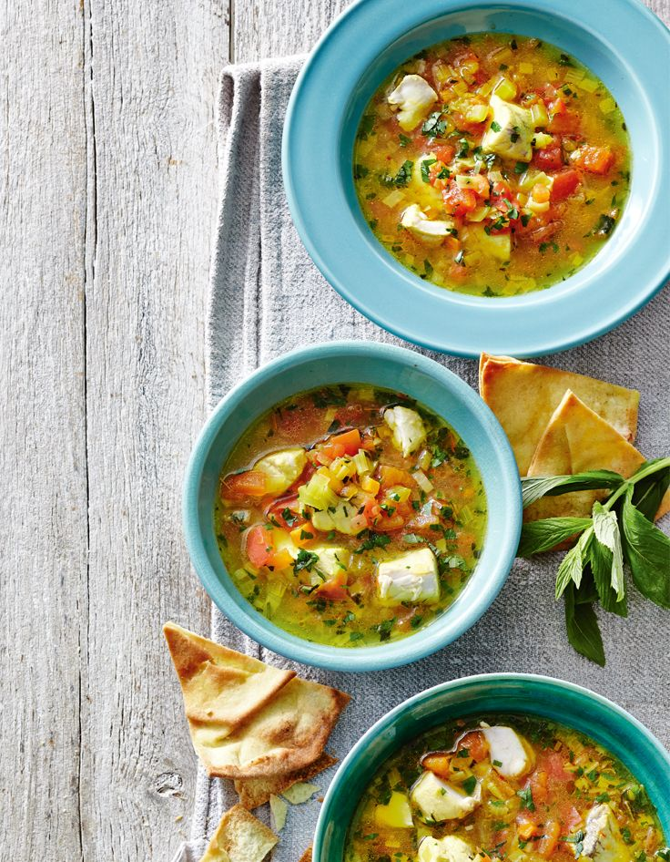 Beat the chill with this hearty Kakavia! #Woolworths #Recipes #Greek #Fish #Soup #Warm #Winter