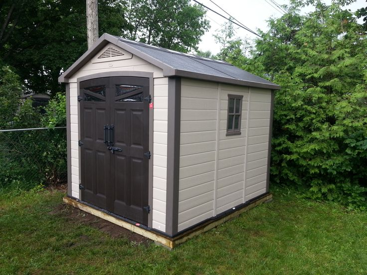 Orion Shed with Base