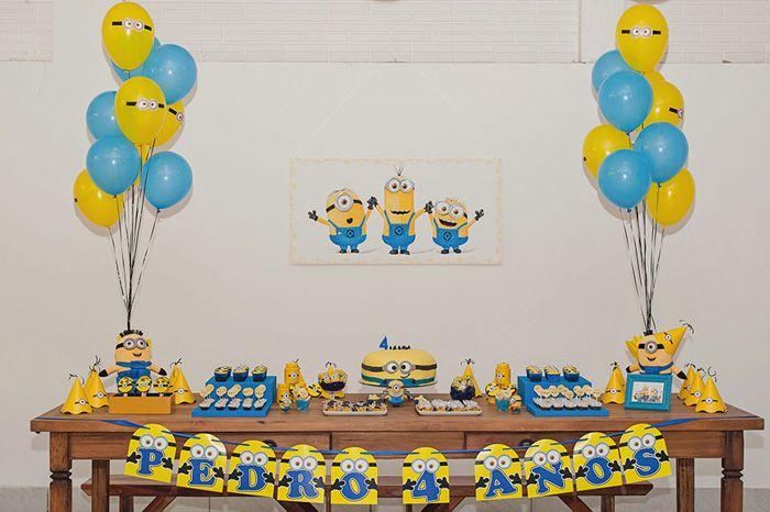 Aniversário dos Minions: minha festa infantil favorita