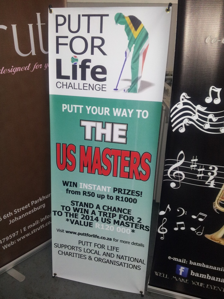 Same day Pullup banners. We are Johannesburg based and deliver nationwide. Http://www.pullupbanners.co.za