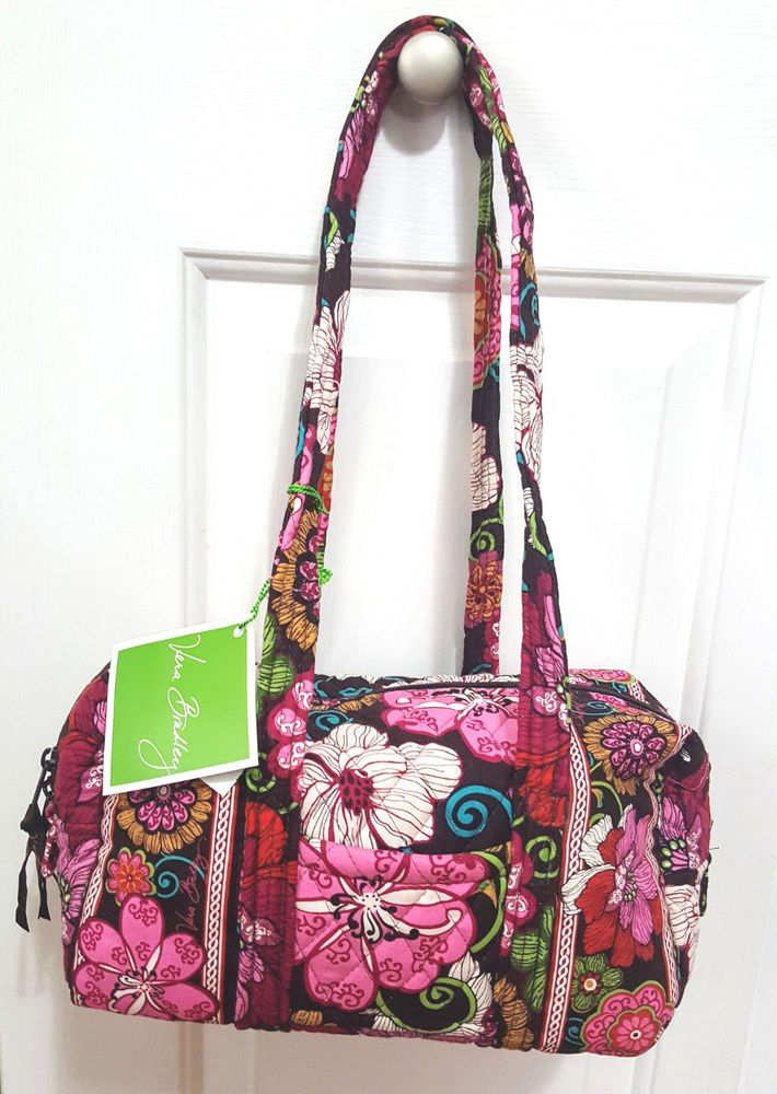 Vera Bradley Mod Floral Pink Satchel Shoulder Bag NWT  VeraBradley   SatchelShoulderBag 3301af39dcb4d