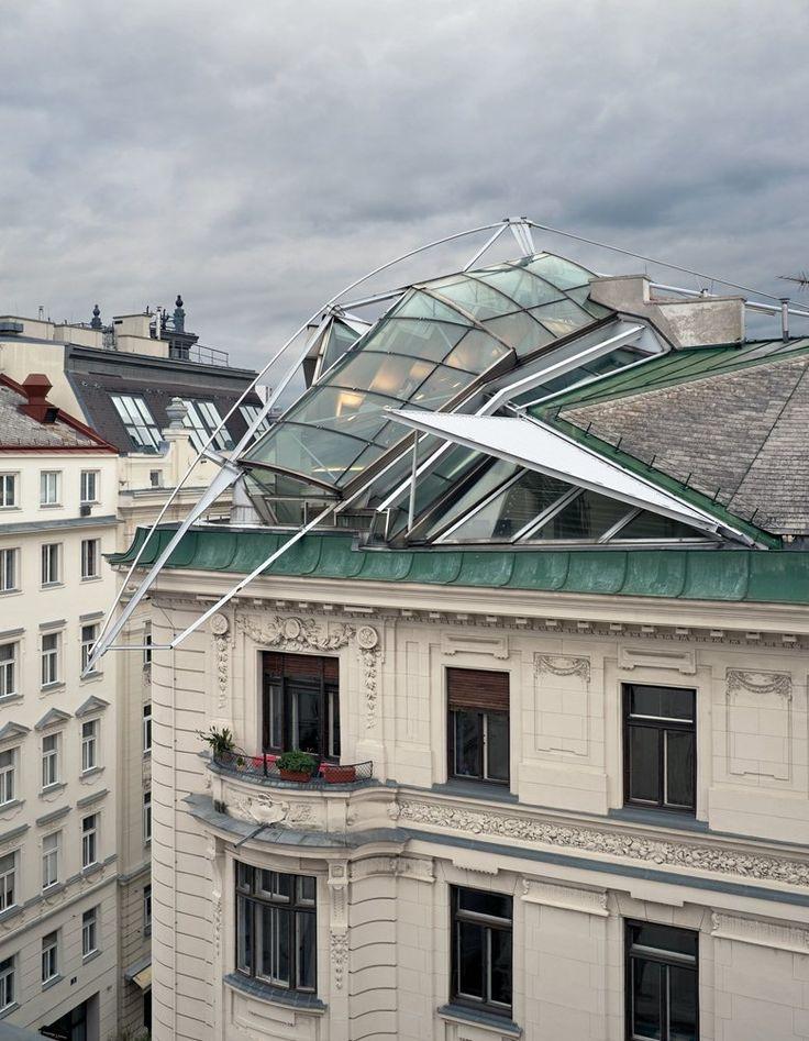 Rooftop Remodelling Falkestrasse Vienna 1983 Coop