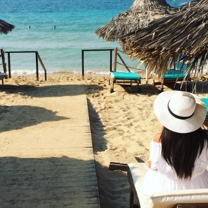 A relaxing day on the beach is all you need to recharge!  : @miss.kristinana #grecianbay #cyprus #grecianbayhotel #ayianapa