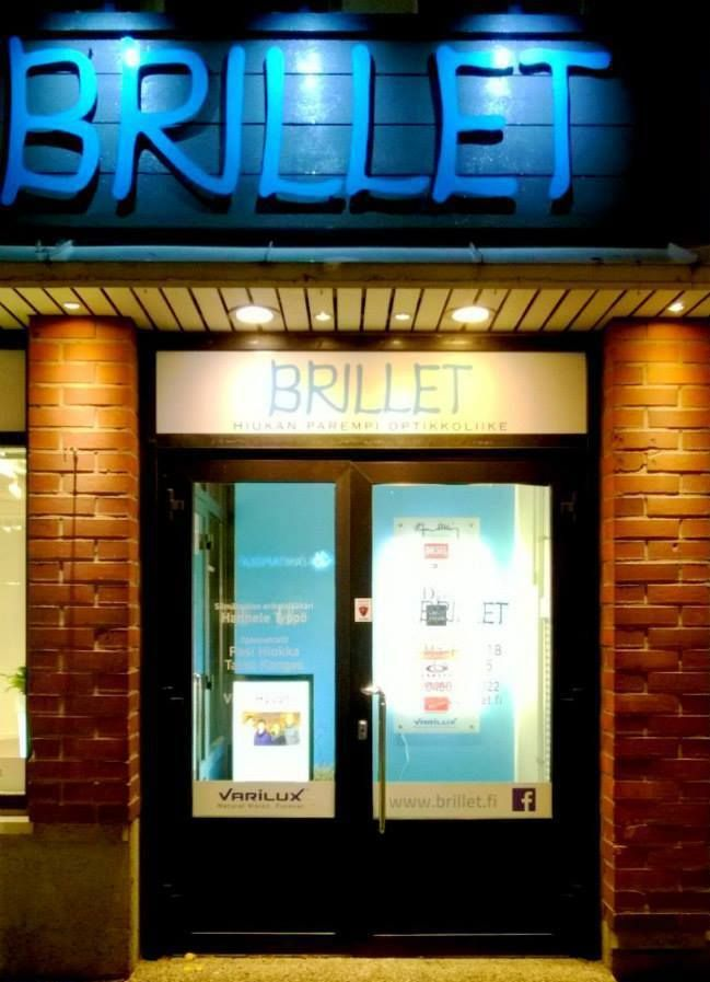 Brillet - hiukan parempi optikkoliike Rovaniemellä. Brillet - optical store at arctic circle, Rovaniemi.
