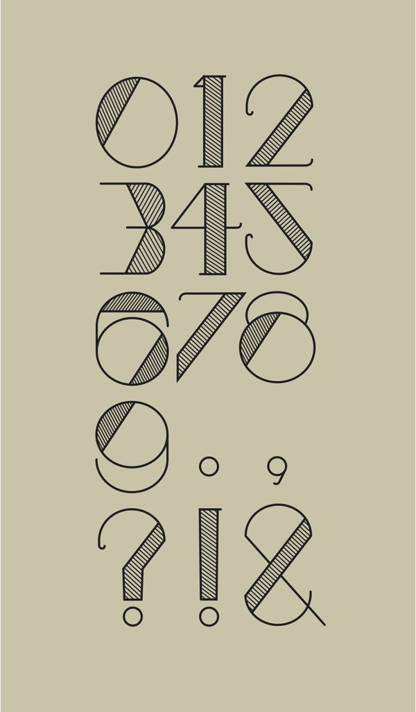 Stitch Typeface on Behance