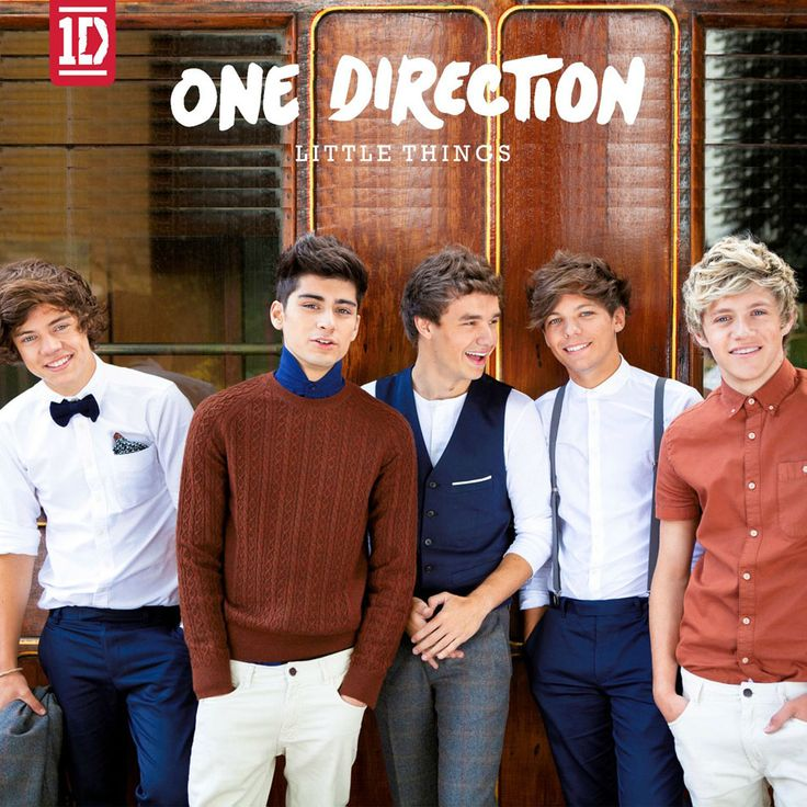 Caratula Frontal de One Direction - Little Things (Cd Single)